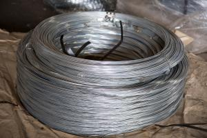 Coil of tension wire for Gurza installation