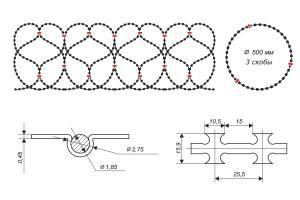 Gurza 500/3 spiral drawing