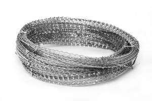 Gurza 600/3 spiral barrier in the coil